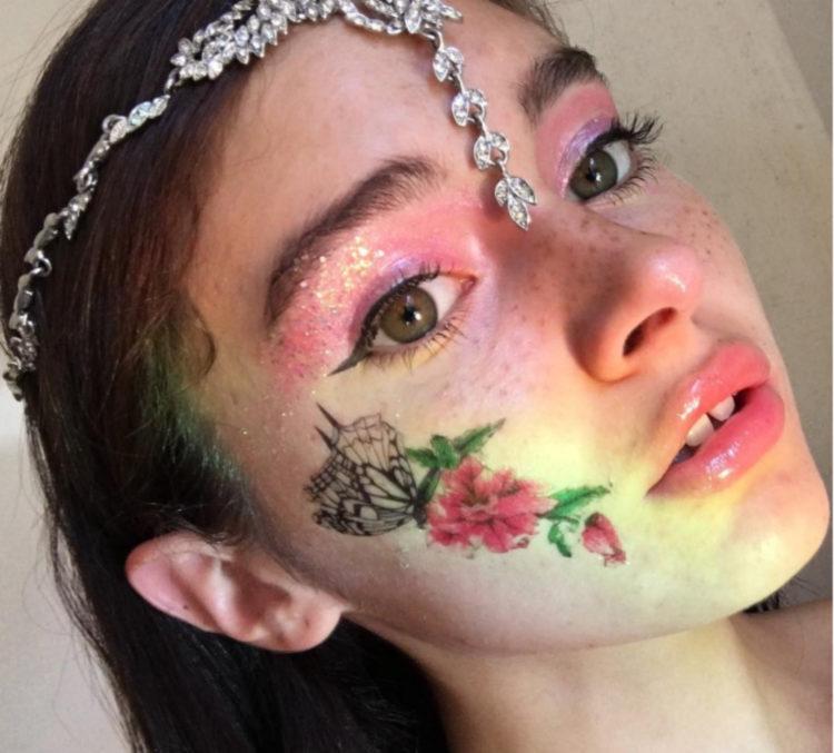 Melanie Santos Instagram Interview Make Up Artist Tattoos