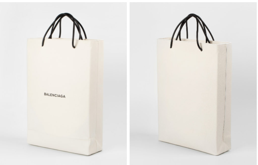 BALENCIAGA COLETTE SHOPPING BAG PAPER BAG NEWS FASHION TREND DEMNA GVASALIA