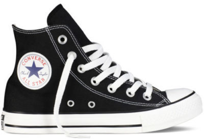 SHOES FOR PEOPLE WHO DONT LIKE FEET CONVERSE ALL STARS HIGH TOP CLASSIC BLACK SNEAKERS