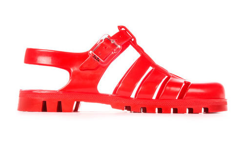 PEOPLE WHO DONT LIKE FEET JUJU JELLY SHOES SANDALS RED