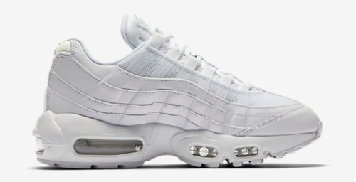 PEOPLE WHO DONT LIKE FEET NIKE AIR MAX 95 OG GREY SNEAKER TRAINER PLATFORM