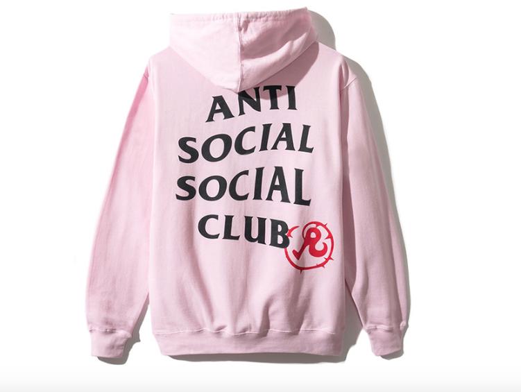 ANTI SOCIAL SOCIAL CLUB RICHARDSON NSFW COLLABORATION JAPANESE EROTICA HOODIE T-SHIRT