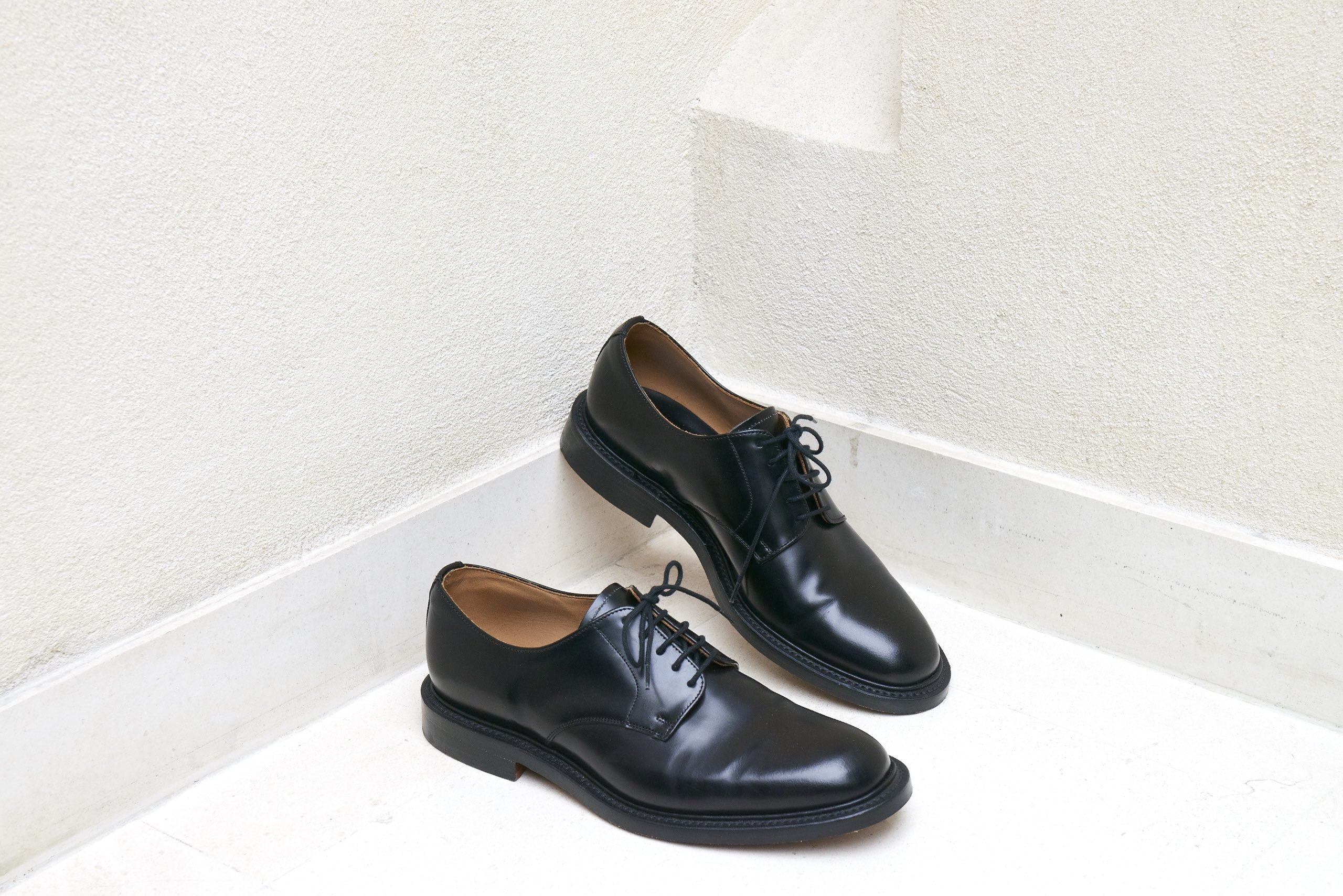 SANDRO DERBY MADE IN ENGLAND SHOE LEATHER HOMME MENSWEAR LEATHER