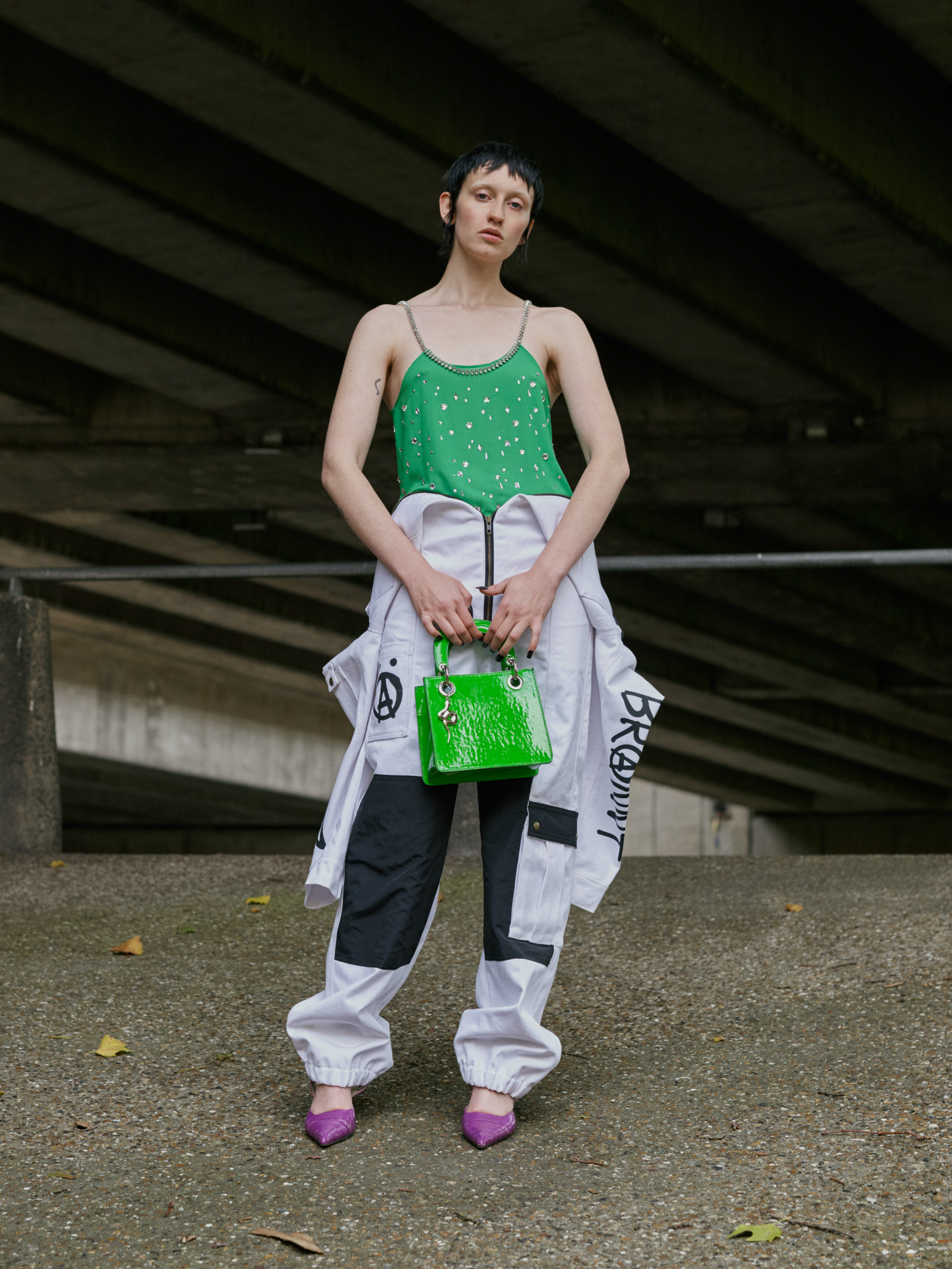 Julia Seemann SS18 Swiss Alternative Music Subculture Collection