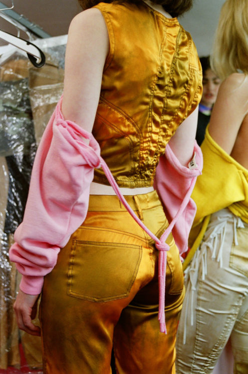 Backstage Ottolinger SS18 Paris Fashion Week