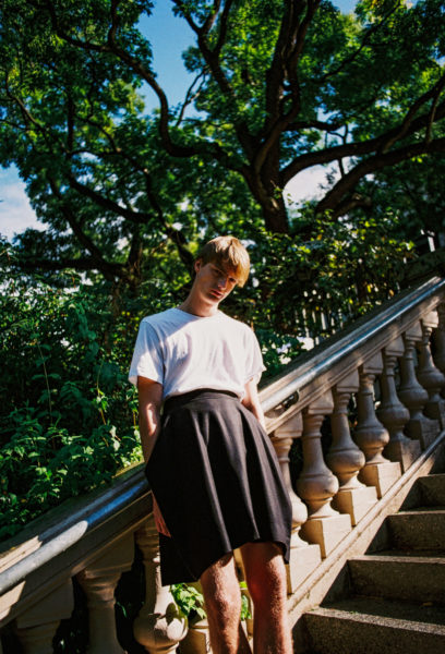 men in skirts trend feature