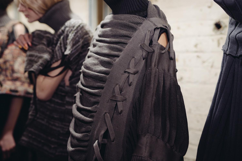 london college of fashion MA show