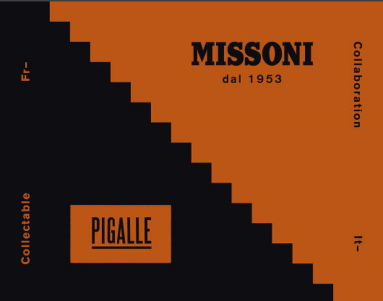 Pigalle x Missoni Collaboration News