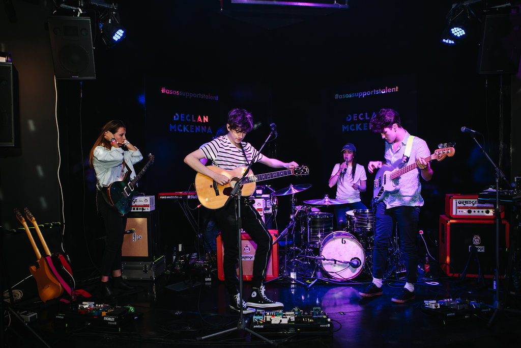 release date first look running shoes ASOS SUPPORTS TALENT: DECLAN MCKENNA SHOWS THE CREATIVE ...
