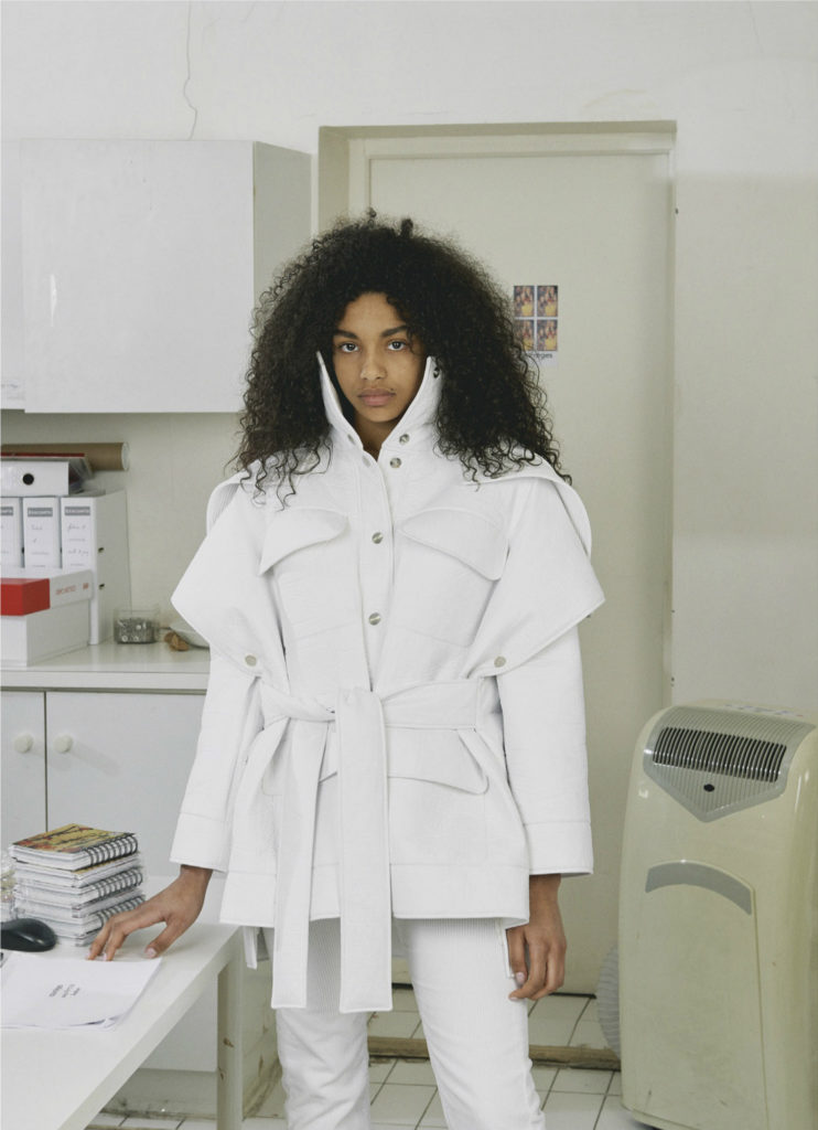 André Courrèges Evolution AW 17 Lookbook INDIE Magazine