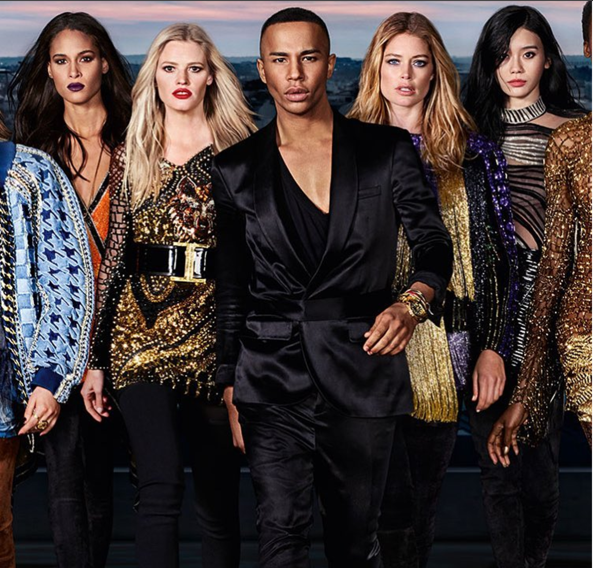f3a0695dadd BALMAIN AND L'ORÉAL DIVE INTO DIVERSITY FOR NEW COLLABORATION