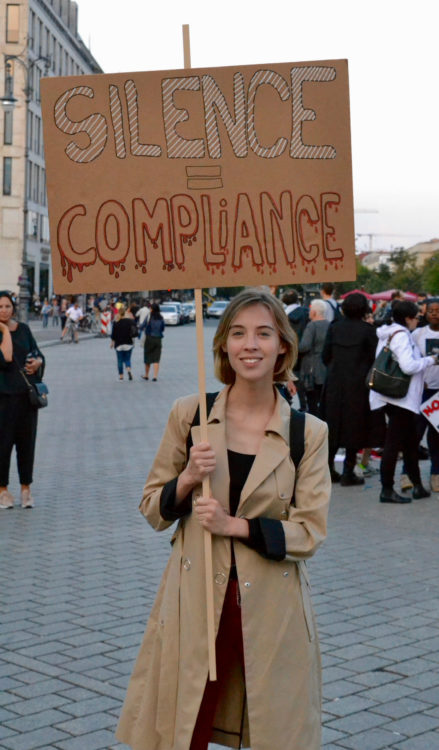 Berlin Protest Charlottesville Attacks