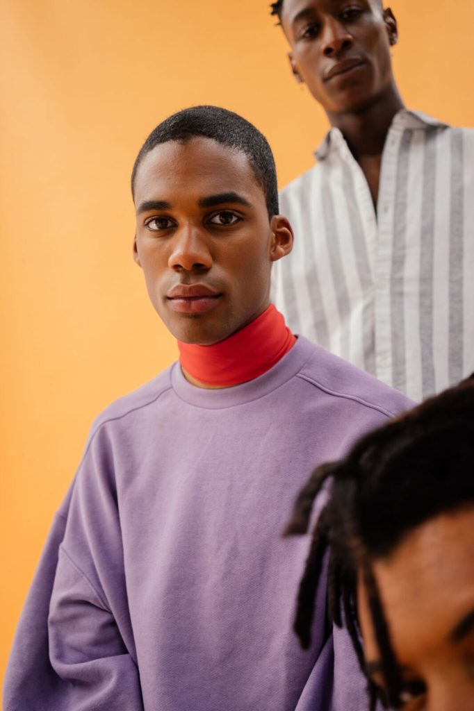 Black masculinity editorial cherise soesman yavez anthonio