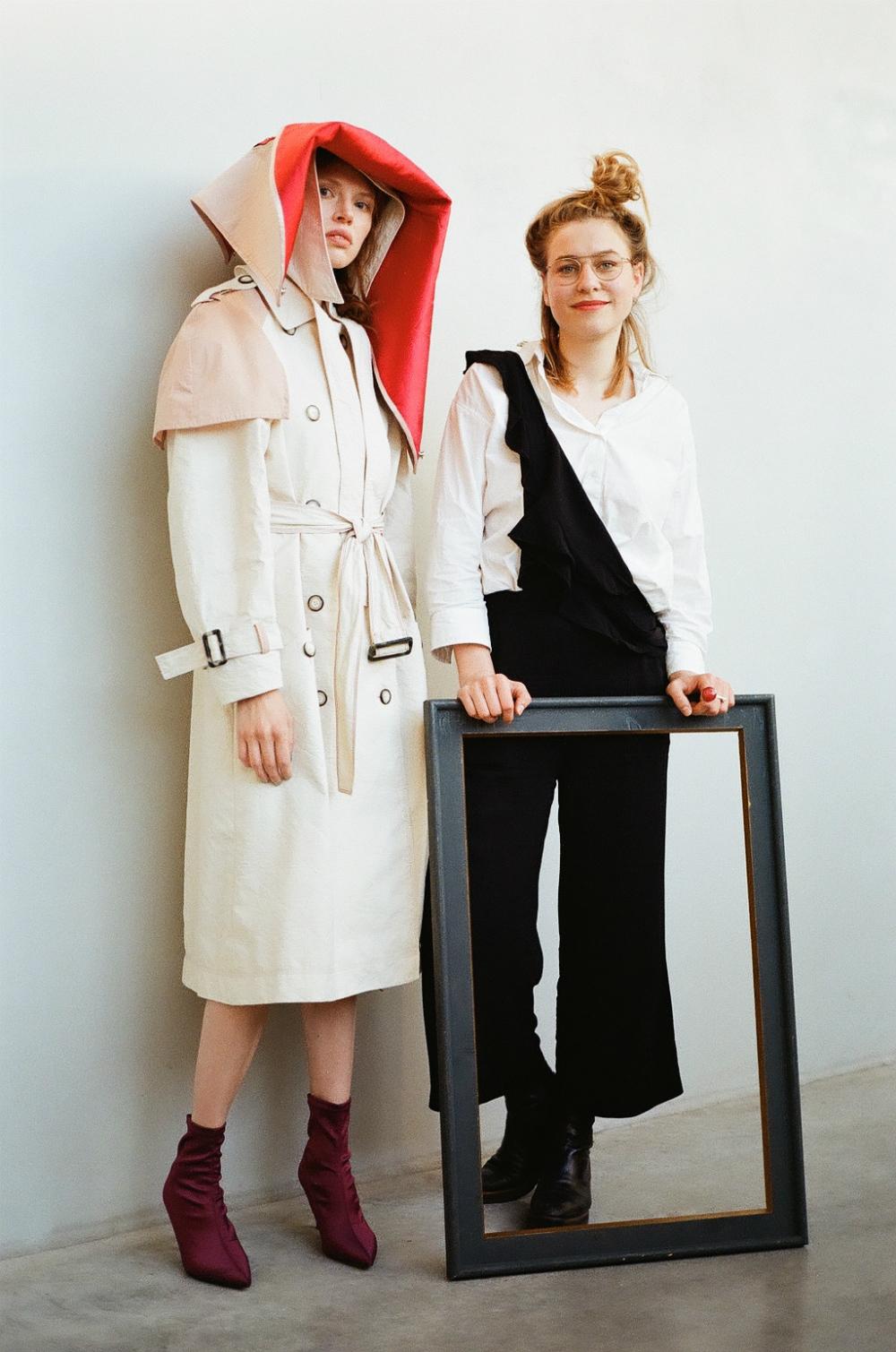 Berlin fashion designers interview esmod graduate show