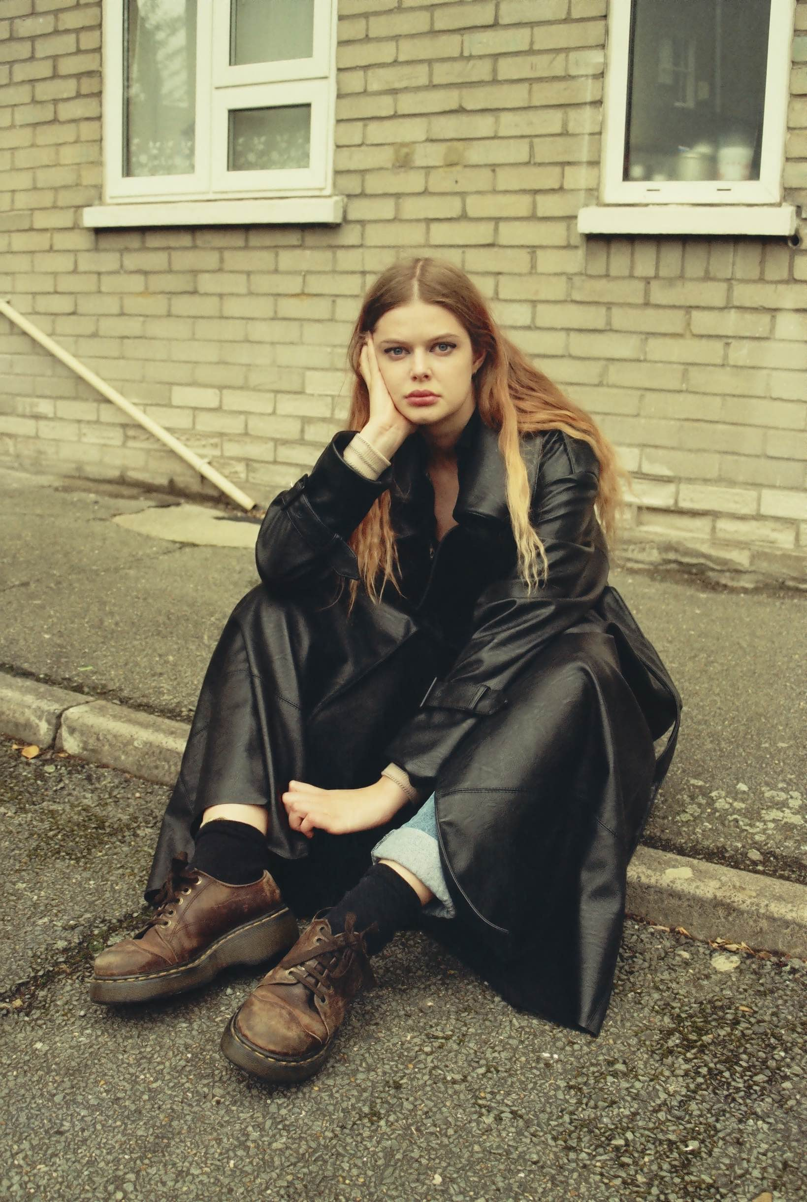 Down The Street To This Suburbs Editorial Indie Magazine Naomi Coat Youth In Flux With Wong