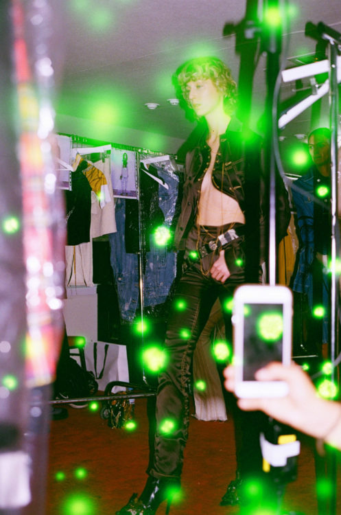 Backstage Ottolinger SS18 Paris Fashion Week