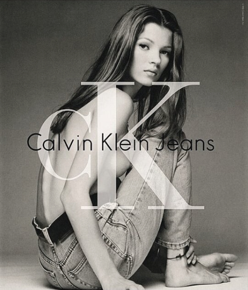 Ad Kate Moss Calvin Klein History Evolution