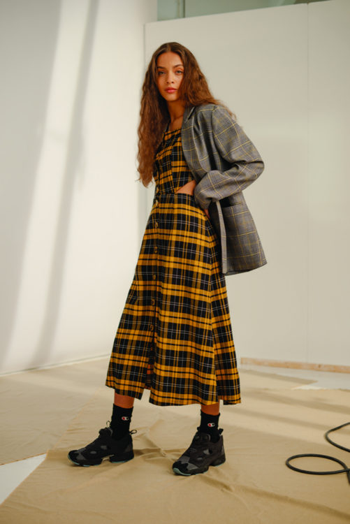 Urban Outfitters Unisex Suit SS18 Collection Interview Lizzie Dawson