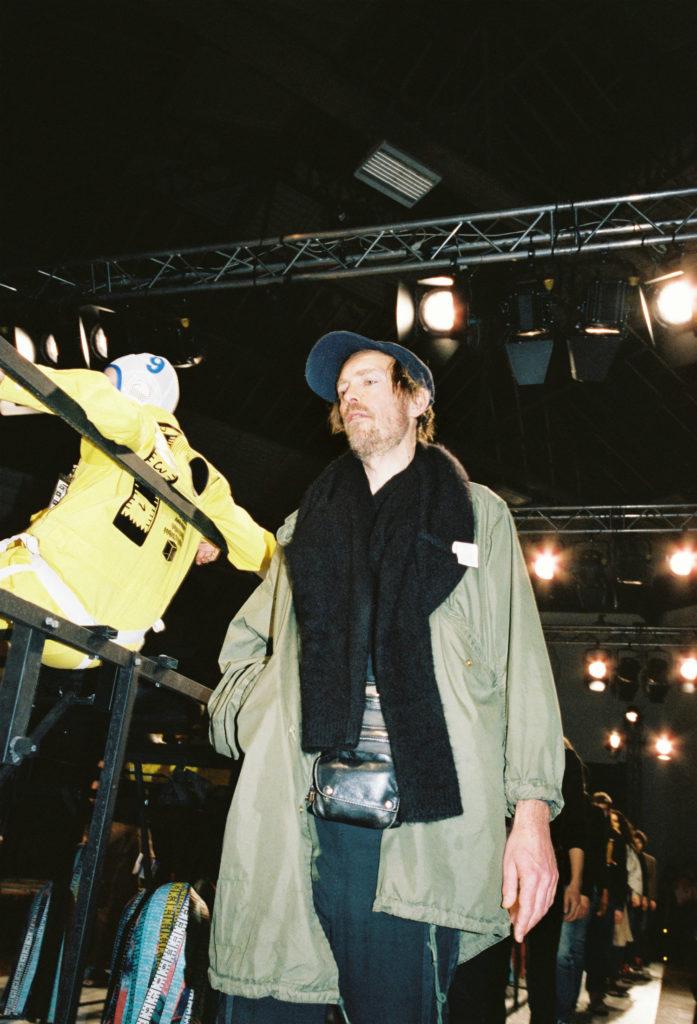Henrik Vibskov backstage