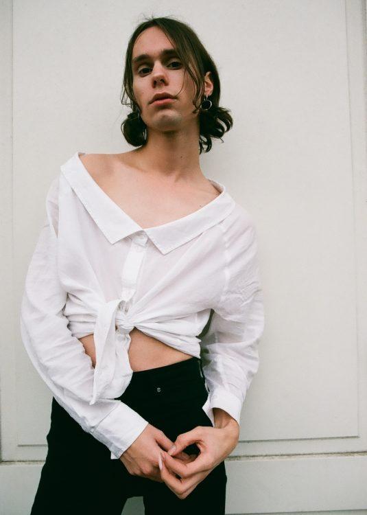 male model interview Genderless Fashion Binary World