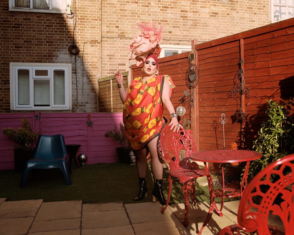 Female Drag Queens: Holestar shot by Jan Klos