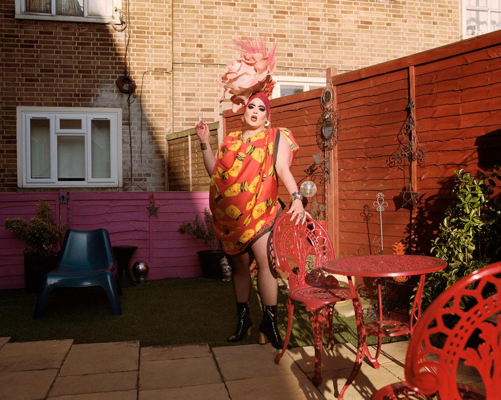Female Drag Queens: Holestar shot by Jan Klos