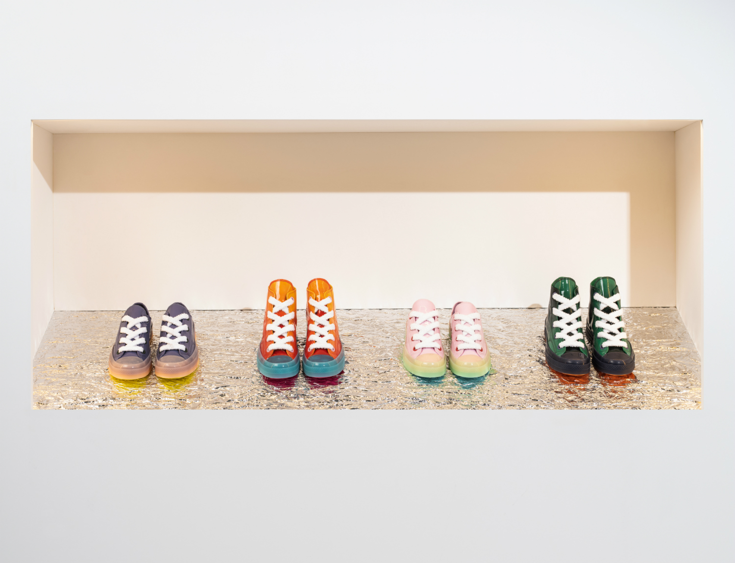 JW ANDERSON X CONVERSE CHUCK TAYLOR RON NAGLE COLLABORATION DROP ART FASHION VOO STORE LOEWE